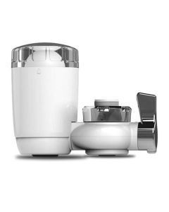 WBM Smart WF-03 CE,Rohs,NSF,SGS,ISO Certified 3000 L Filtration Capacity- Long Lasting Water Faucet Filtration System, Faucet Filter, Tap Water Filter, Diatom Ceramic,Weak Alkaline Ball- Remove Chlorine & Bad Taste