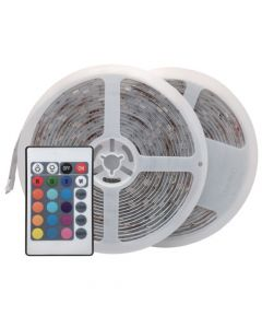 LED Strip lights kit 2X5M RGB IR LED strips kits (For outdoor)